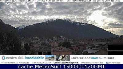 webcam Morbegno Sondrio