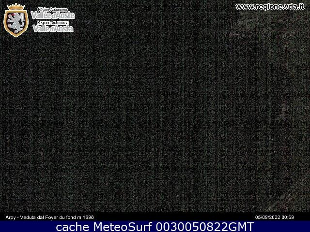 webcam Arpy Morgex Valle d Aosta