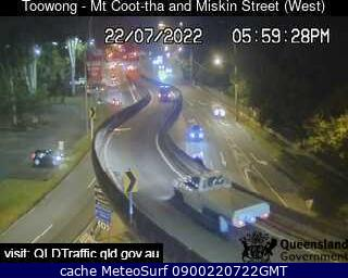 webcam Mt Cootha South East Queensland