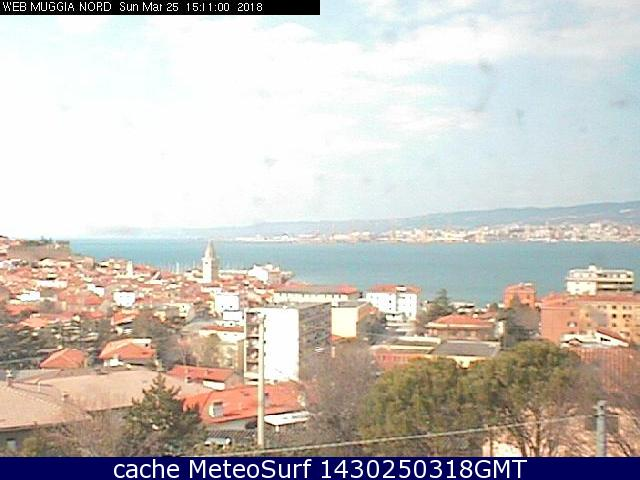 webcam Muggia Trieste