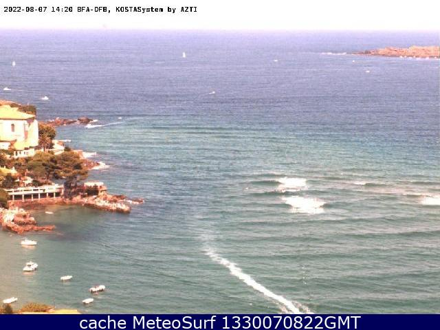 webcam Mundaka Olas Vizcaya
