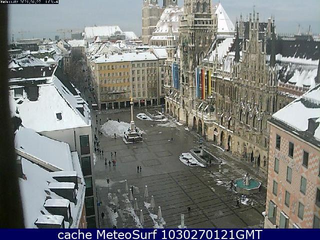 webcam Munich Oberbayern