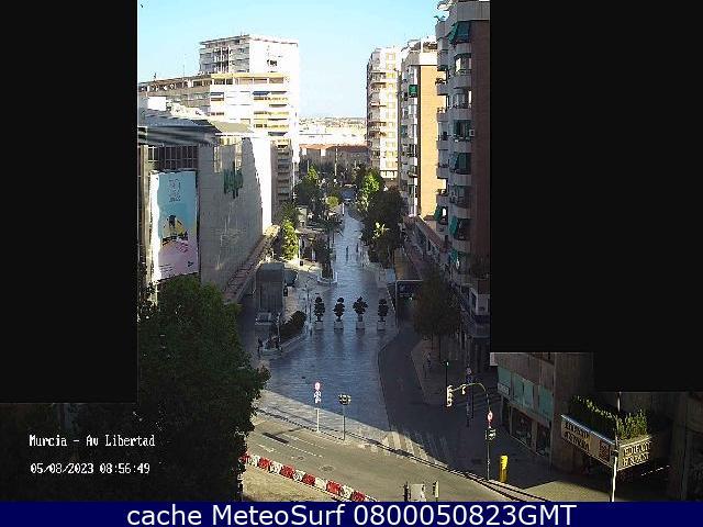 webcam Murcia Centro Ciudad Huerta de Murcia
