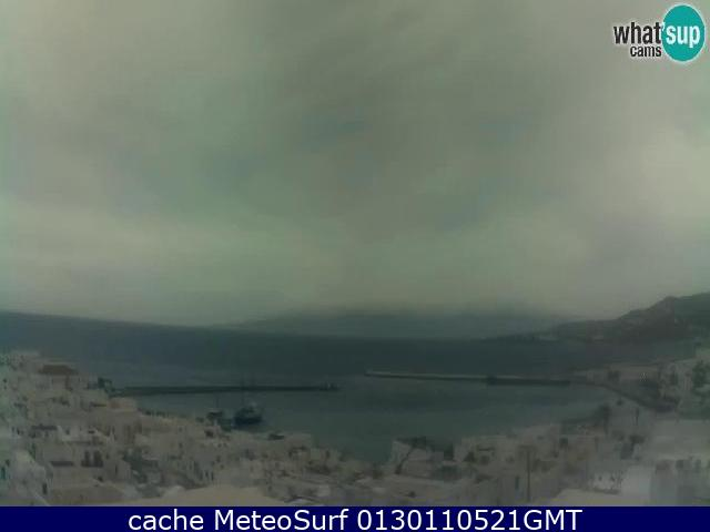 webcam Mykonos Windsurf Mykonos