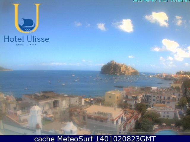 webcam Ischia Porto Nápoles