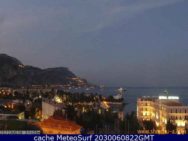 webcam Beaulieu sur Mer Alpes Maritimes