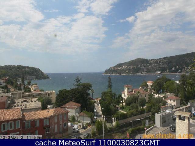 webcam Villefranche sur Mer Alpes Maritimes