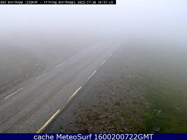 webcam Nordkapp Finnmark