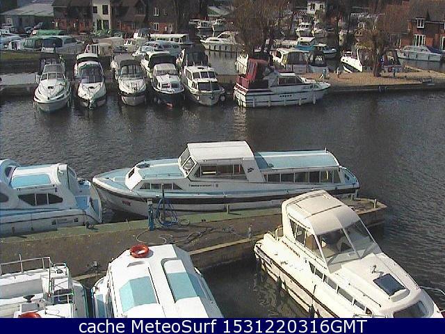 webcam Wroxham Barnes East of England