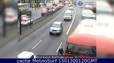 webcam Old Kent Rd Londres