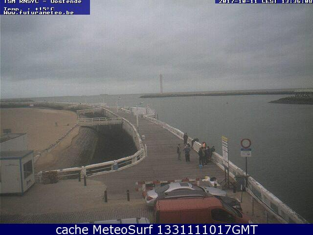 webcam Oostende Pier Oostende