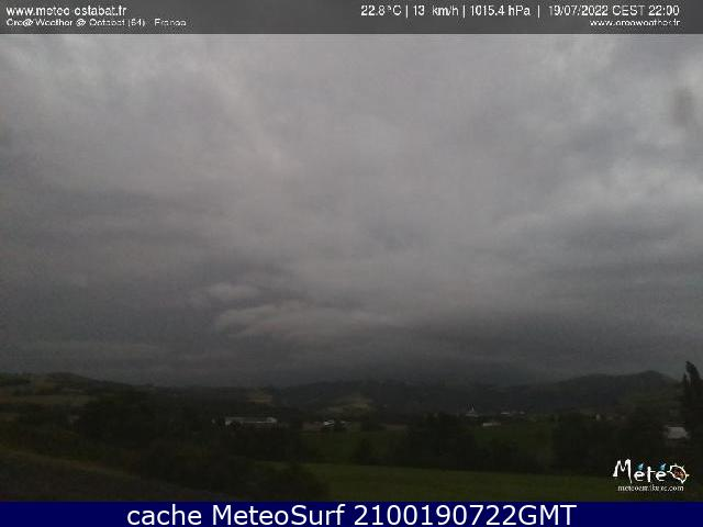 webcam Ostabat Pyrénées Atlantiques