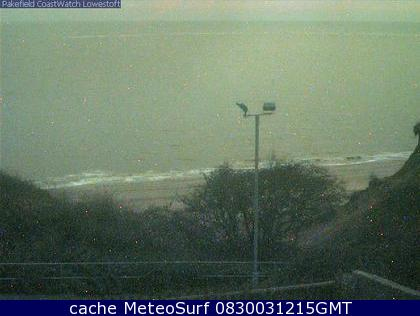 webcam Pakefield Suffolk