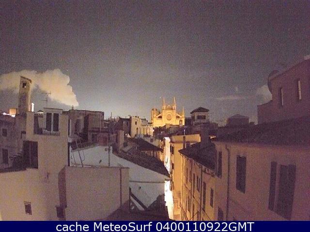 webcam Palma de Mallorca Plaça Islas Baleares