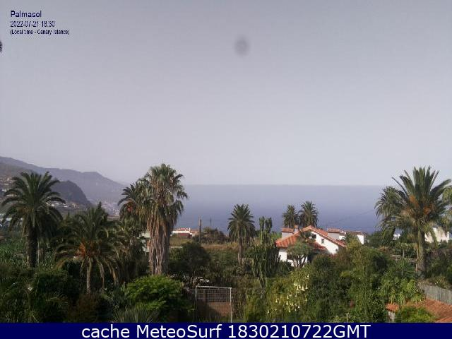 webcam Palmasol Breña Alta Santa Cruz de Tenerife