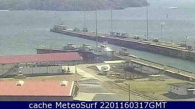 webcam Estrecho de Panamá Colón