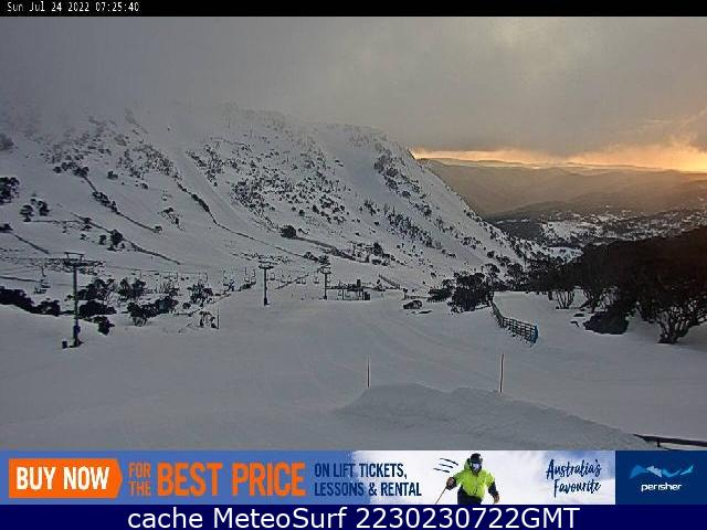 webcam Perisher Ski South-Eastern