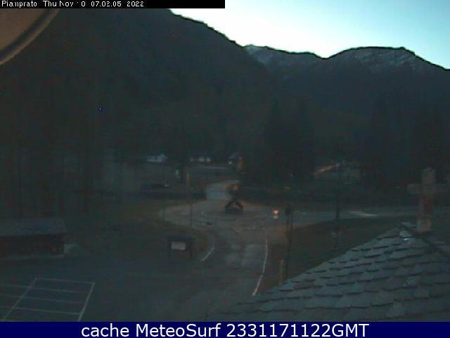 webcam Piamprato Turín