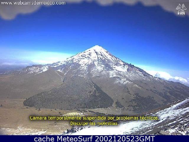 webcam Pico de Orizaba Orizaba