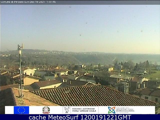 webcam Pinzano al Tagliamento Pordenone