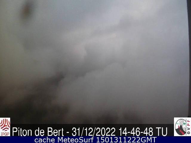 webcam Piton de Bert Saint Benoît