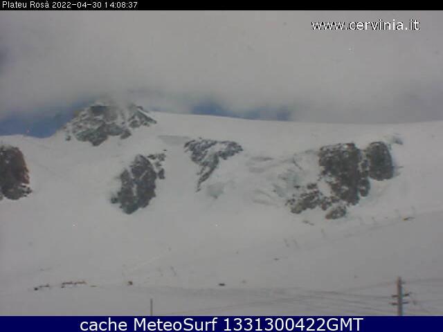 webcam Plateau Rosà Valle d Aosta