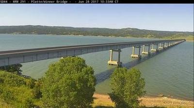 webcam Missouri River Charles Mix