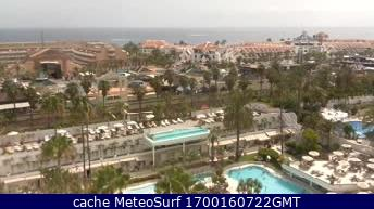 webcam Playa de Las Americas Santa Cruz de Tenerife