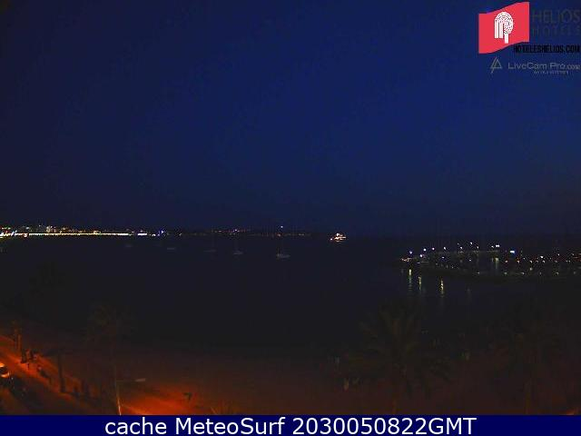 webcam Palma de Mallorca Islas Beleares