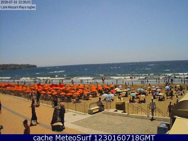webcam Playa del Inglés Dunas de Maspalomas Las Palmas