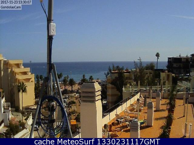 webcam Playa del Ingles San Agustin Las Palmas