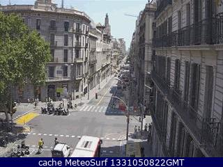 webcam Plaza Urquinaona Barcelona