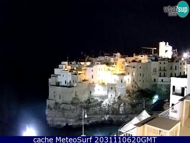 webcam Polignano a Mare Bari