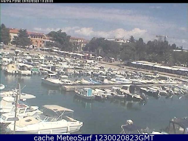 webcam Porec Marina Istria