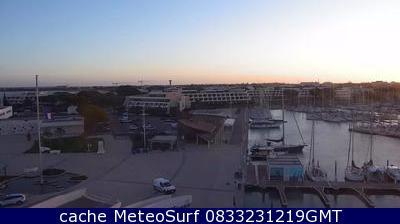 webcam Port-Camargue Herault