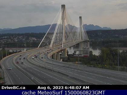 webcam Vancouver Port Mann Bridge Vancouver