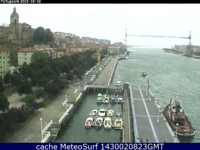 webcam Portugalete Puerto Alava