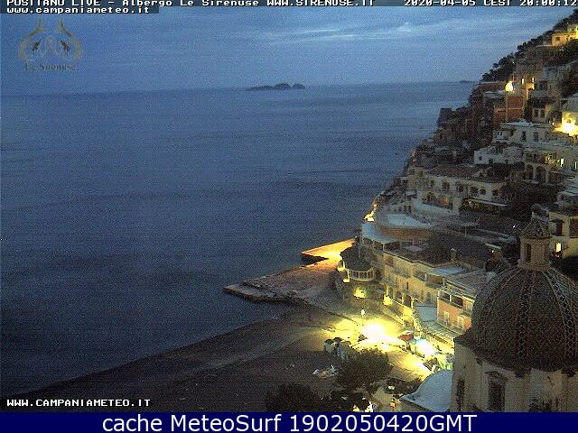webcam Positano Salerno