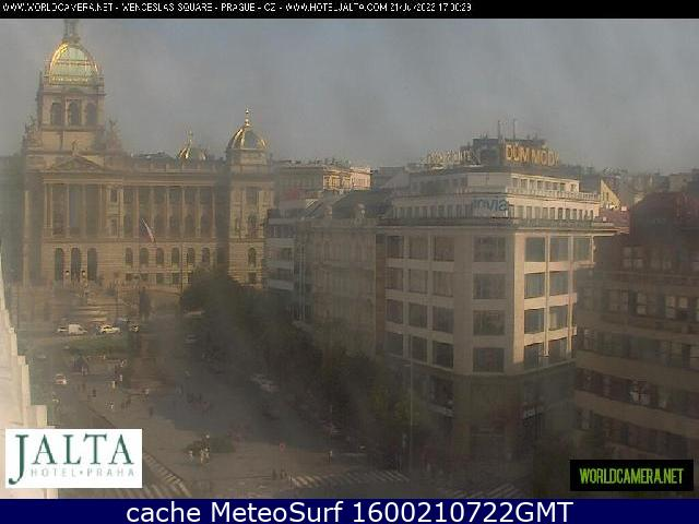 webcam Nove Mesto Praga Prague District