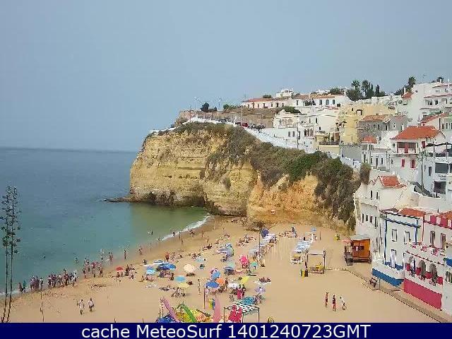 webcam Praia de Carvoeiro Faro