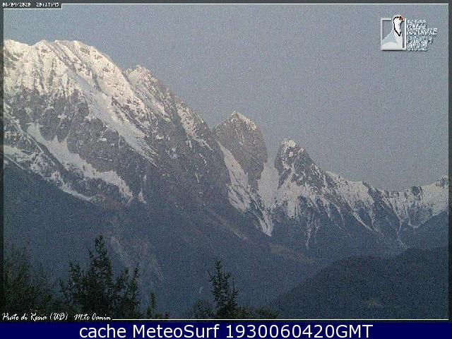 webcam Prato di Resia Udine
