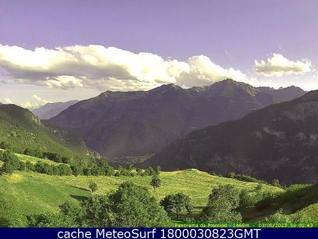 webcam Promiod Valle d Aosta