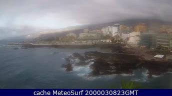 webcam Puerto de la Cruz Santa Cruz de Tenerife