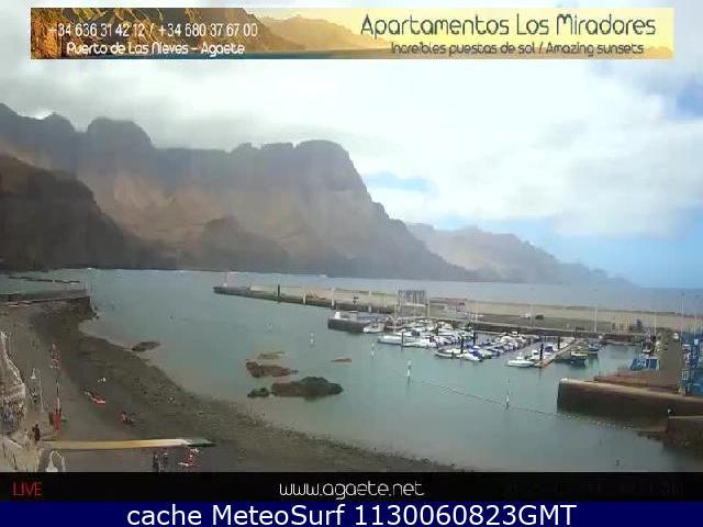 webcam Puerto de las Nieves Las Palmas