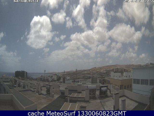webcam Puerto de Rosario Las Palmas