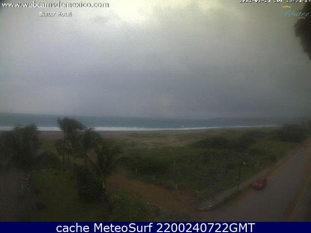 webcam Puerto Escondido Hotel San Pedro Mixtepec
