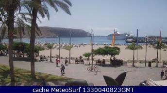 webcam Los Cristianos Santa Cruz de Tenerife