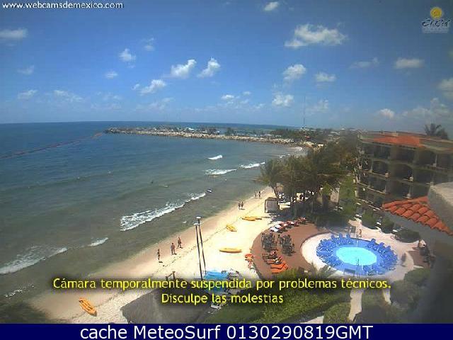 webcam Puerto Morelos Benito Juárez