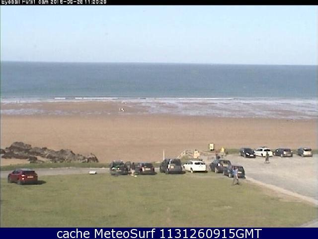 webcam Putsborough Sands Devon