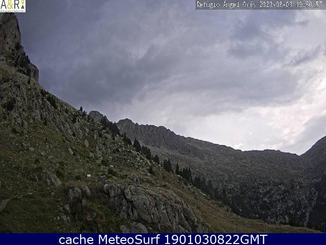 webcam Refugio Angel Orus Huesca